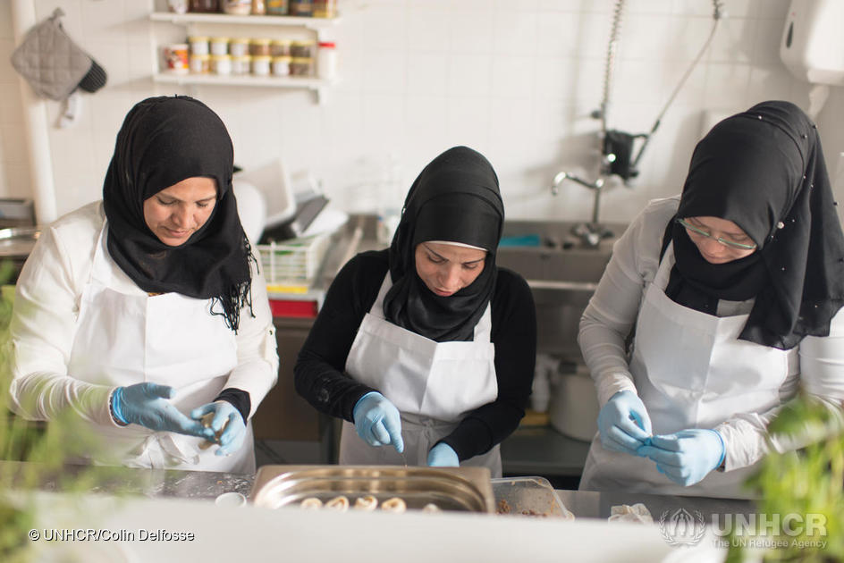 Belgium. Entrepreneur refugee brings Syrian cuisine to the heart of Europe