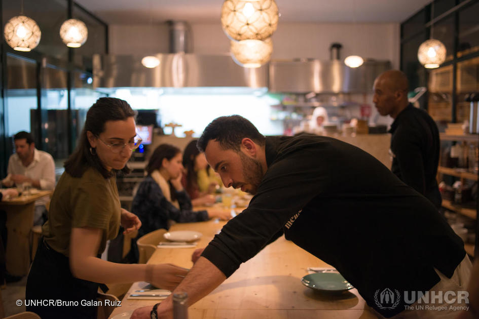 Portugal. Lisbon's first Syrian restaurant