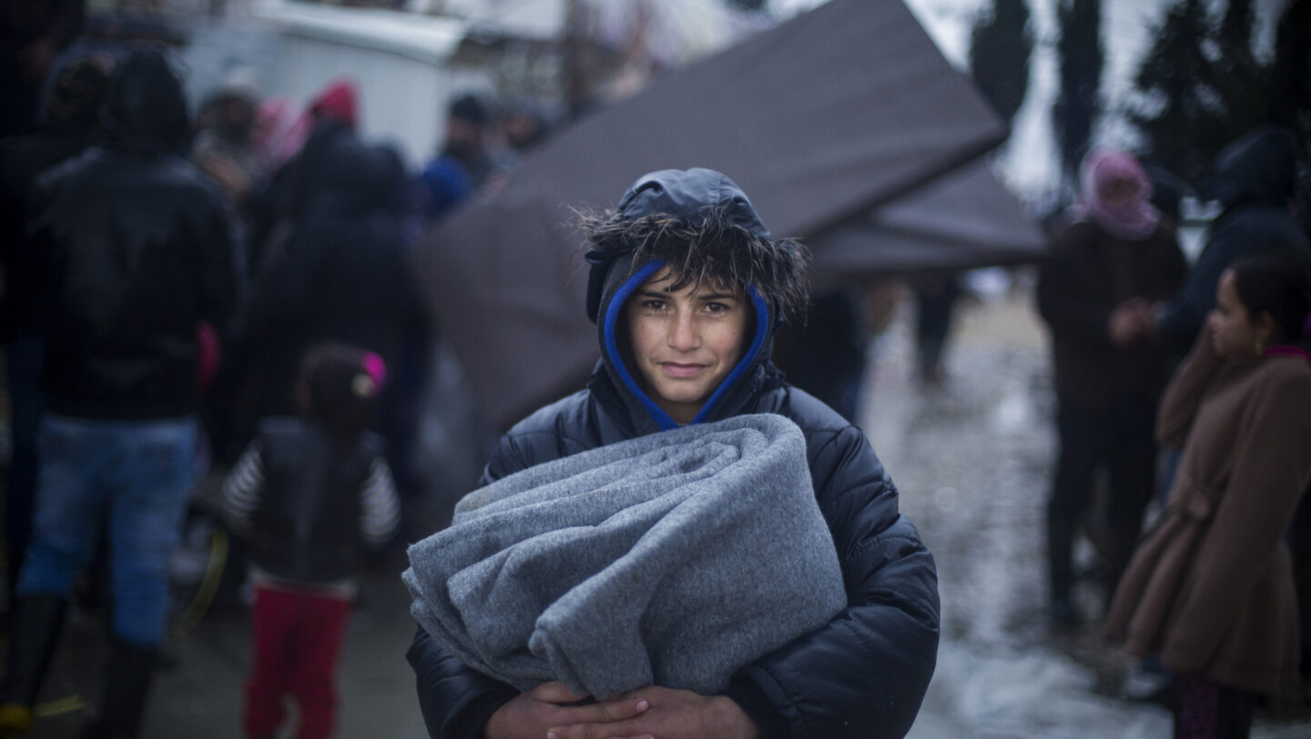 Lebanon. Storm Norma brings misery to Syrian refugees