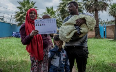 Ethiopia rolls out new biometric system to enhance registration of refugees