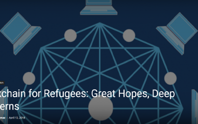 Blockchain for Refugees: Great Hopes, Deep Concerns