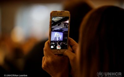 Mobile platforms can give refugees access to vital information