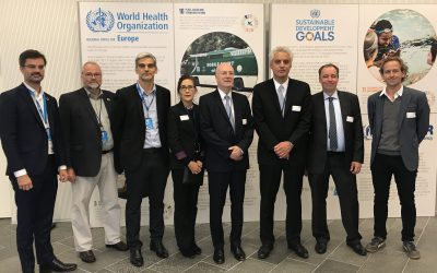 UN City welcomes officials to discuss the Joint Data Centre