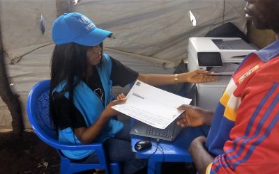 In Angola, PRIMES new anti-fraud features improves the registration process