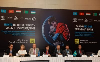 Central Asian Regional Conference on Birth Registration and Prevention of Statelessness Took Place in Nur-Sultan