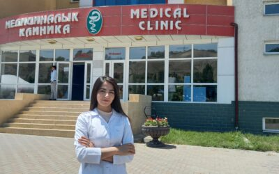 """""""Maybe one day I will be a great doctor too"""" – refugee student dreams to open hospital in Kyrgyzstan"""