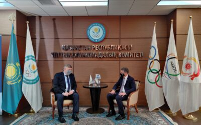 On the eve of World Refugee Day the Kazakhstan National Olympic Committee and UNHCR announced partnership to support inclusion of refugees in sport