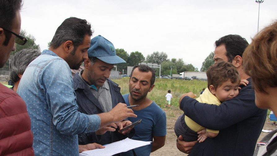 Syrians face tough conditions in Bulgaria's makeshift camps