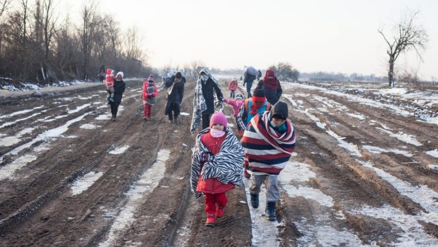 UNHCR calls for help for refugees facing European winter freeze