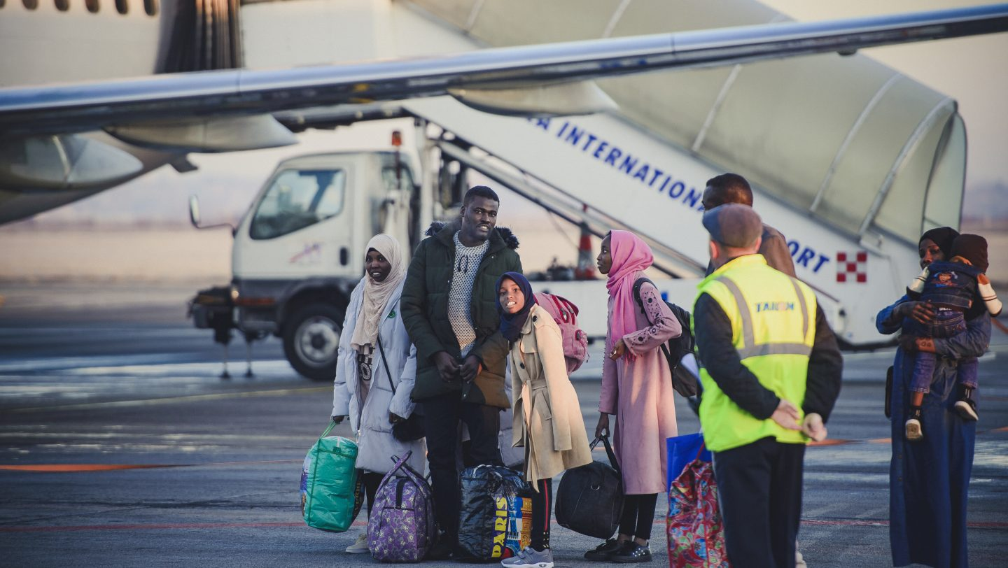 Refugees from Libya take emergency exile awaiting resettlement