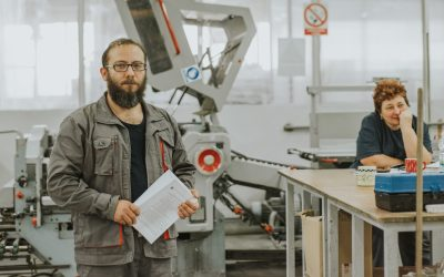 Syrian refugee makes an impression at Croatian printer