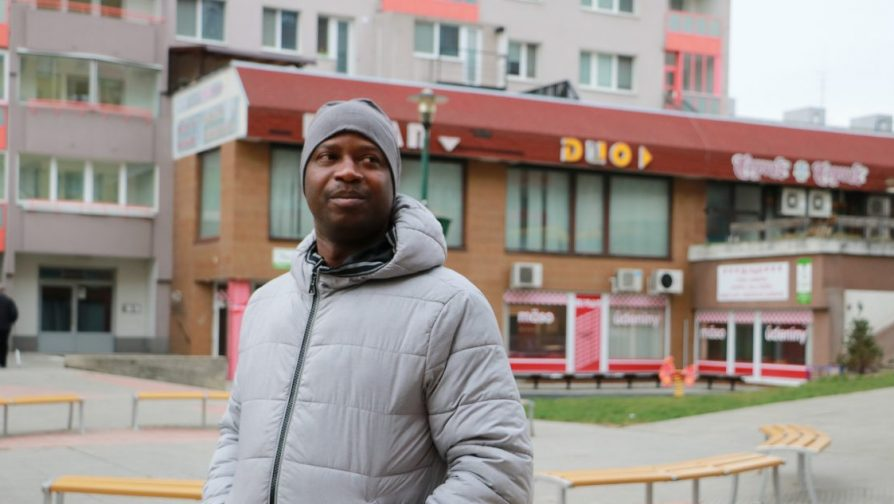 Stateless African finds his way through legal maze in Slovakia - UNHCR Central Europe