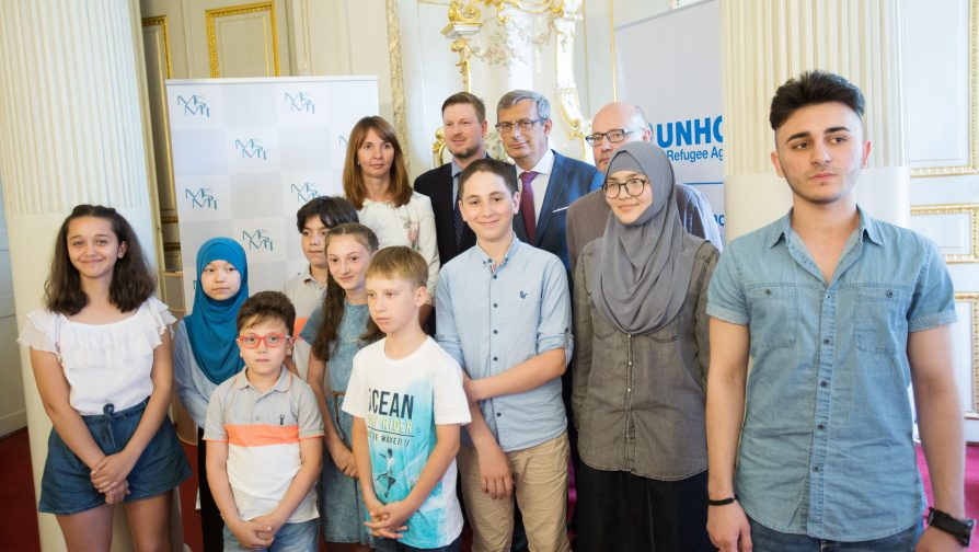 Awards for the Best Refugee Students on the Occasion of the World Refugee Day in the Czech Republic