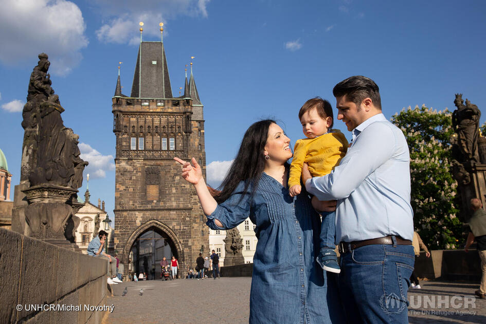 Czech Republic. Honeymoon city becomes home for Syrian couple in Prague