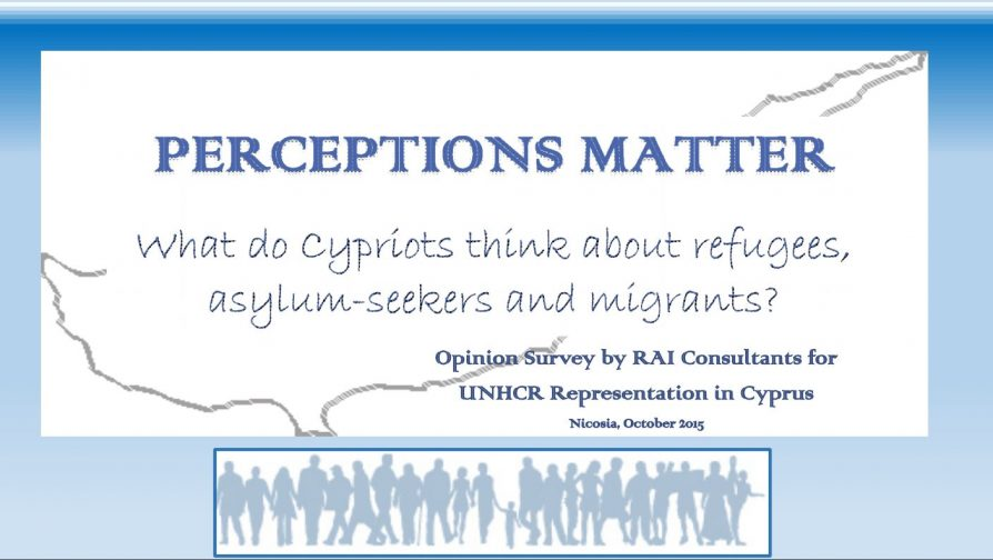 Perceptions Matter – What do Cypriots think about refugees, asylum-seekers and migrants?
