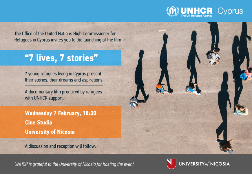 7 lives, 7 stories – A documentary film produced by refugees to be launched on 7 February
