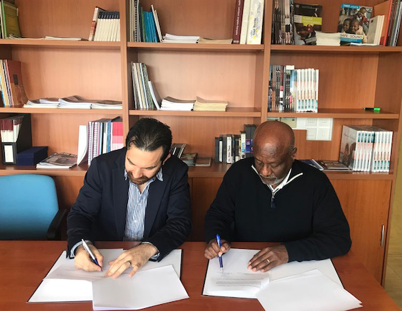 UNHCR and the KASA High School join forces for refugee education