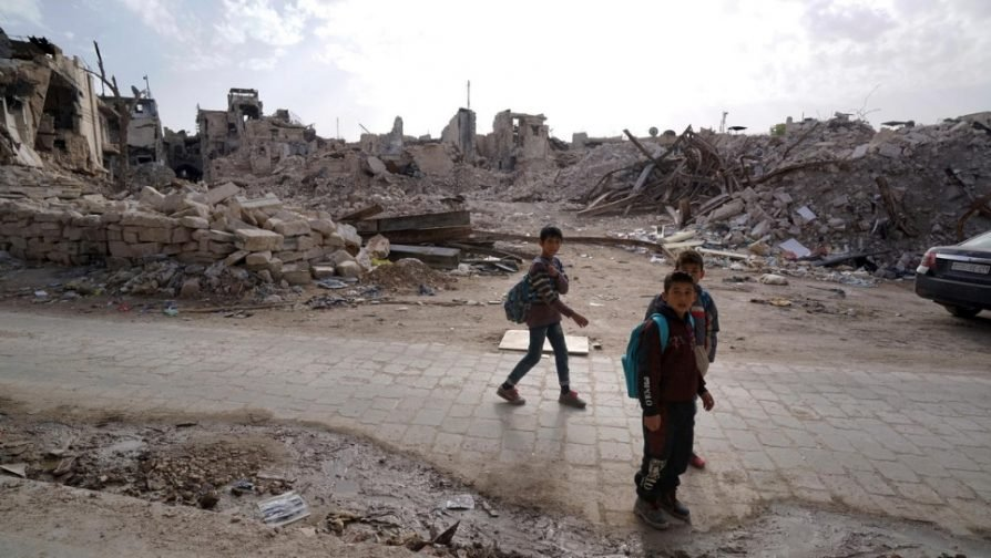 Syria conflict at 7 years: 'a colossal human tragedy'