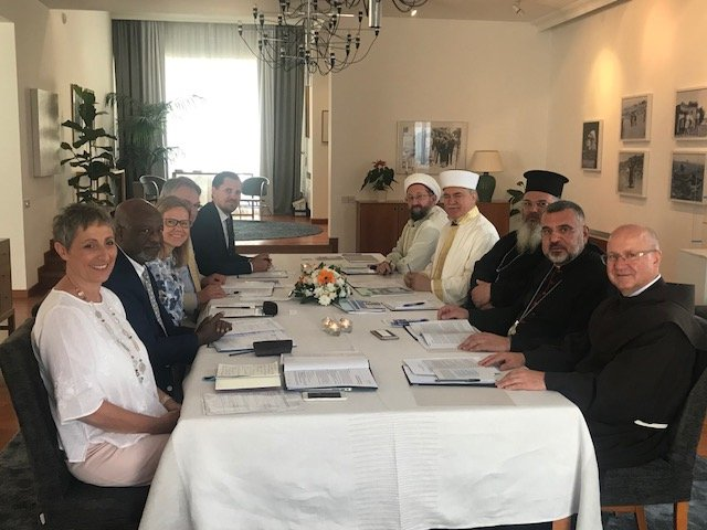 UNHCR Cyprus meets with the religious leaders of Cyprus
