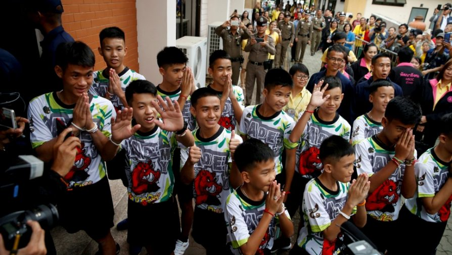 UNHCR welcomes move by Thailand to grant citizenship to boys and coach rescued from cave