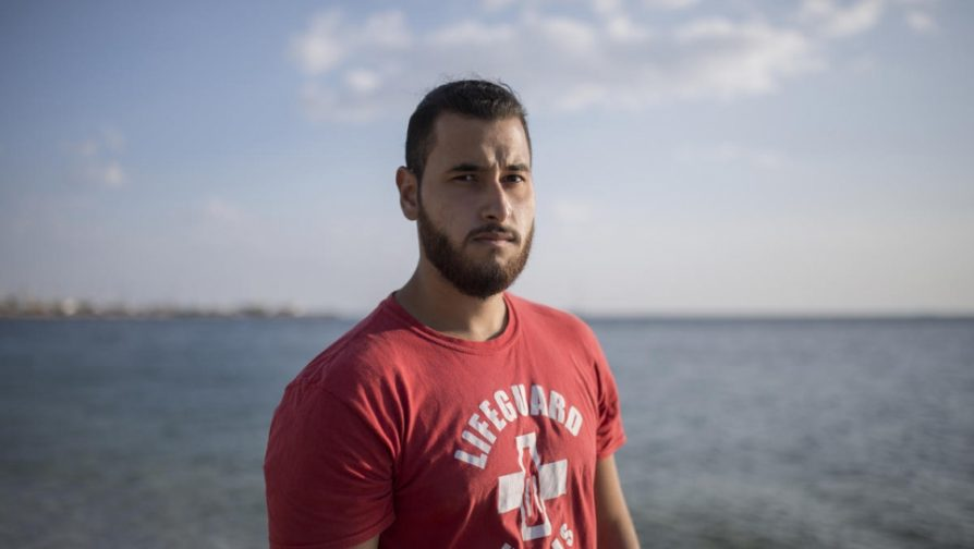 Syrian lifeguard helps save others in peril on the Greek coast