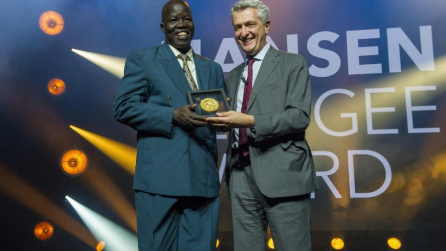 South Sudanese surgeon 'humbled' to receive 2018 Nansen Award