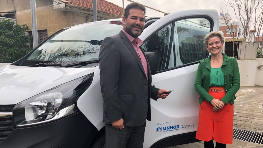 Donation of mini-bus to facilitate integration and access to essential services