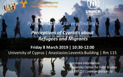 Presentation of Findings: Perceptions of Cypriots regarding Refugees and Migrants