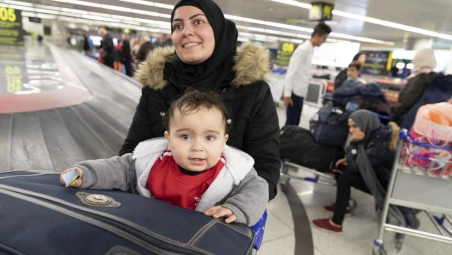 Less than 5 per cent of global refugee resettlement needs met last year