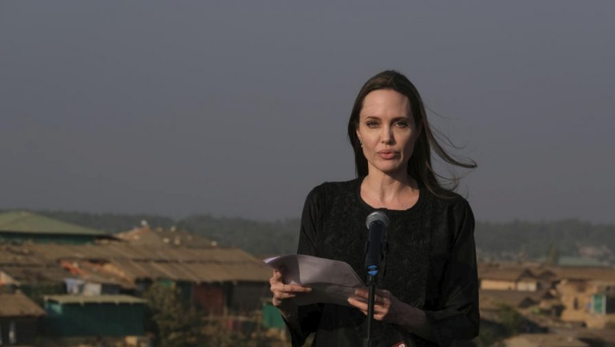 Statement by UNHCR Special Envoy Angelina Jolie in Kutupalong refugee settlement, Bangladesh