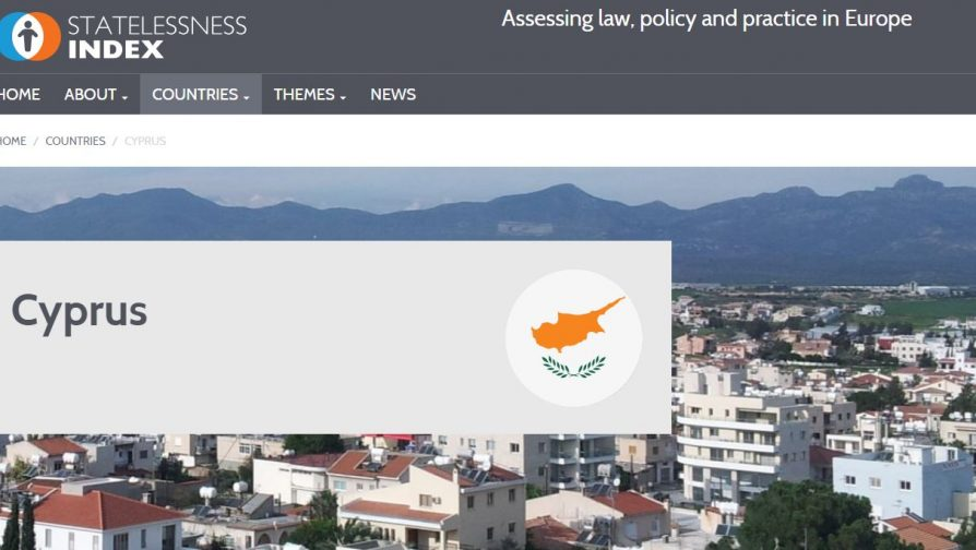 The Statelessness Index now with data on Cyprus