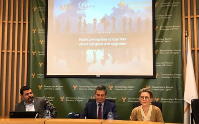 What are Cypriots' perceptions about refugees and migrants? Survey results presented today