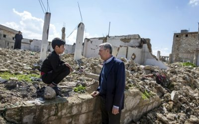 High Commissioner for Refugees visits Syria, assesses humanitarian needs