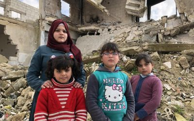 Syrian family come home to a town ravaged by war