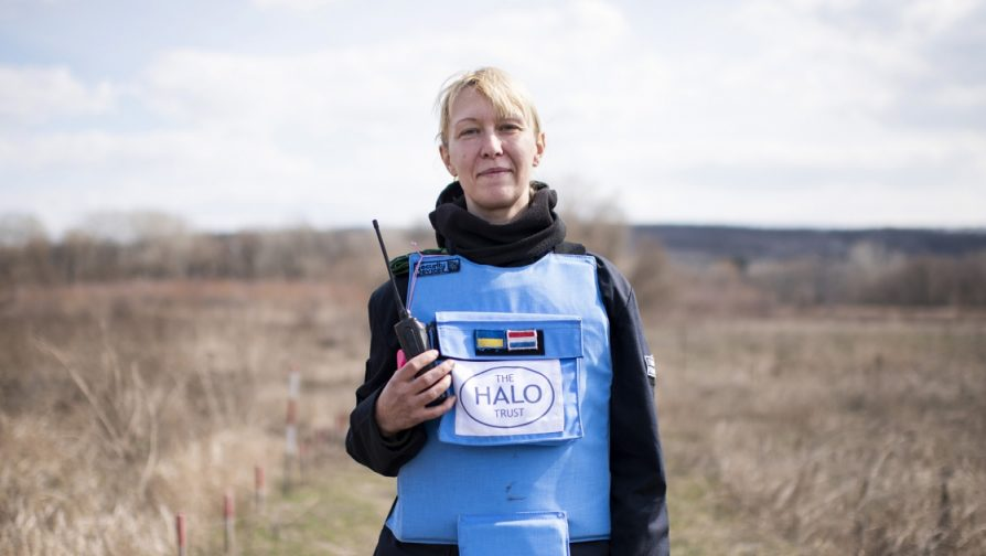 Clearing landmines in Ukraine, one careful step at a time