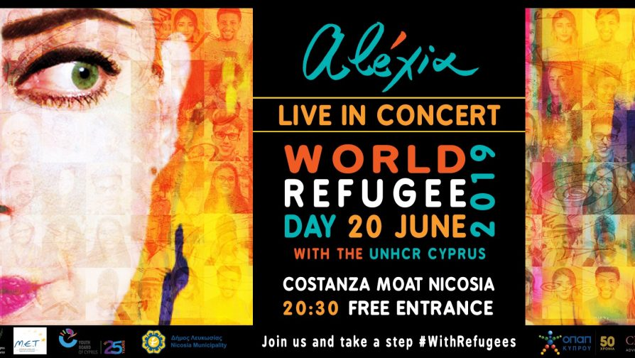 World Refugee Day 2019: Alexia Live in Concert // 20 June