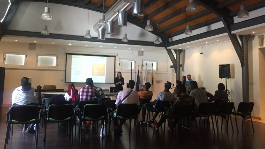 Employment mentorship workshops for refugees offered by the European University of Cyprus