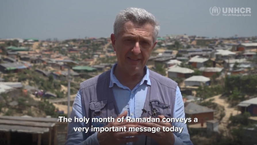 UNHCR chief calls for solidarity with refugees in Ramadan