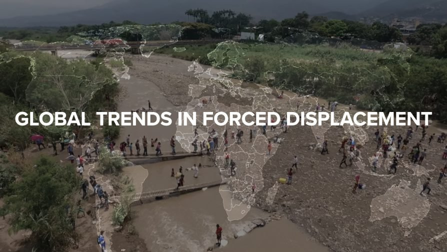 Worldwide displacement tops 70 million, UN Refugee Chief urges greater solidarity in response
