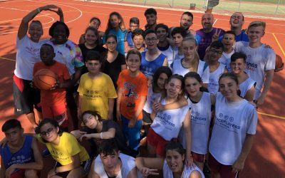 PeacePlayers Welcome Refugee Children to their Summer Camp Programme