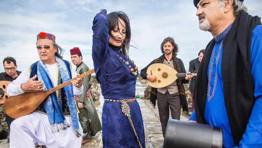 Concert by 'Refugees for Refugees' in Limassol