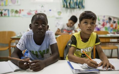 UNHCR, UNICEF and IOM urge European states to boost education for refugee and migrant children
