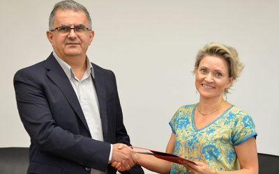 UNHCR and the European University Cyprus conclude a partnership agreement