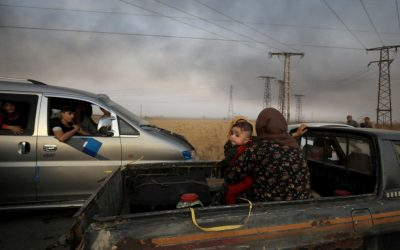 Hundreds of thousands in harm's way in northern Syria