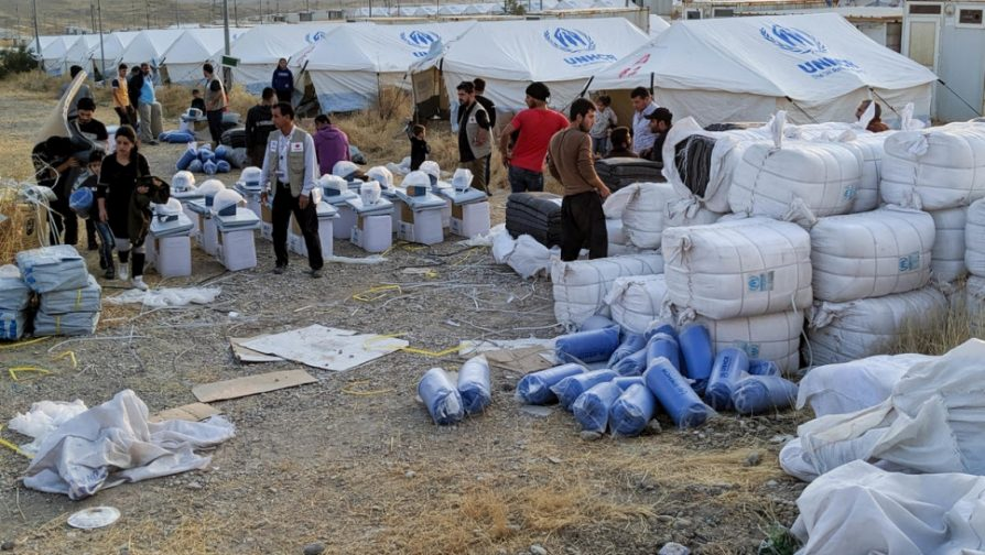 UNHCR expanding response in northern Iraq amid continuing Syrian refugee influx