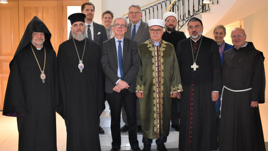 UNHCR Cyprus Representative meets with the religious leaders of Cyprus to discuss the situation of refugees, asylum seekers and migrants