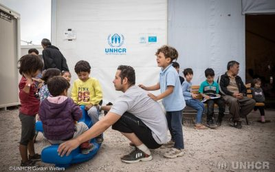 UNHCR deplores attacks against humanitarians on Greek islands, appeals for calm