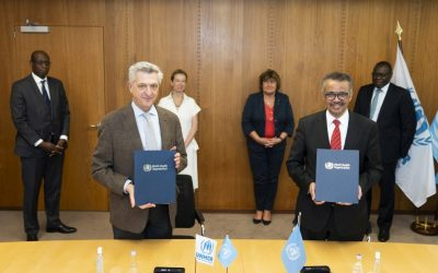WHO and UNHCR join forces to improve health services for refugees, displaced and stateless people