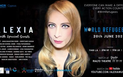 Alexia with Special Guests in a Virtual Concert on World Refugee Day 2020