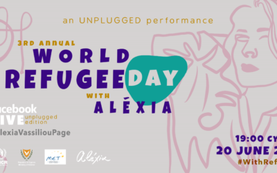 3rd Annual World Refugee Day with Alexia: an UNPLUGGED performance